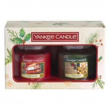 Magical Christmas Morning - zestaw 2 średnie słoiki Yankee Candle