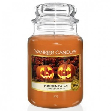 Duża świeca Pumpkin Patch Yankee Candle