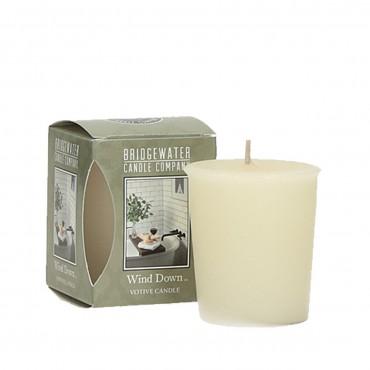 Świeca zapachowa Votive Wind Down 56 g Bridgewater Candle