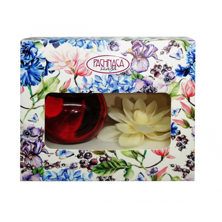 Dekoracyjny odświeżacz powietrza Kwiat Magnolii sola kula Pachnąca Szafa