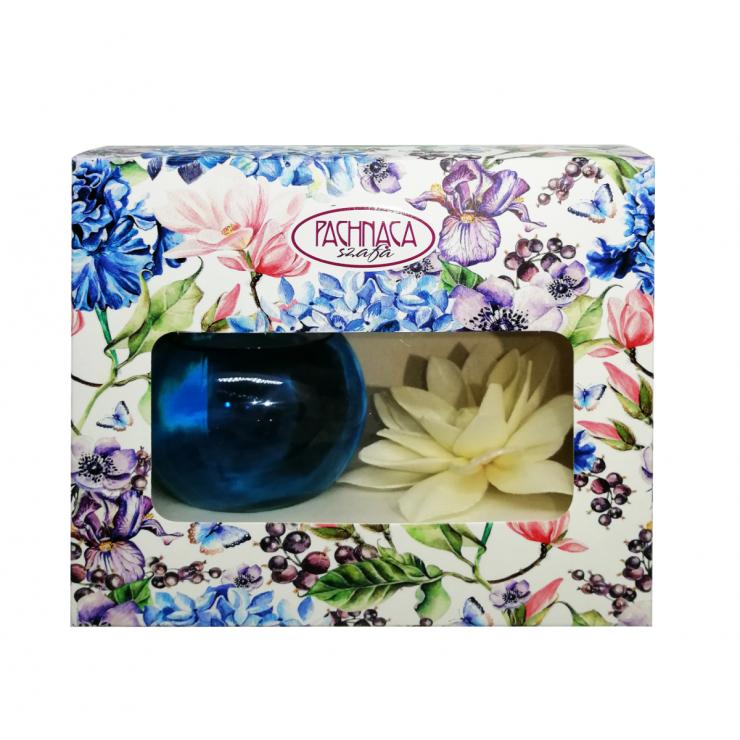 Dekoracyjny odświeżacz powietrza Kwiat Orchidei sola kula Pachnąca Szafa