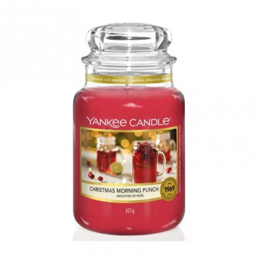 Duża świeca Christmas Morning Punch Yankee Candle