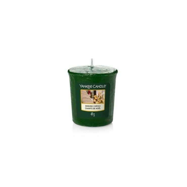 Sampler Singing Carols Yankee Candle