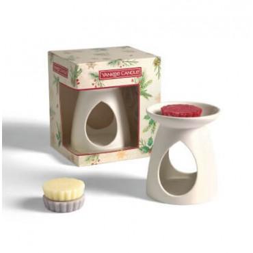 Magical Christmas Morning - zestaw 3 wosków z kominkiem Yankee Candle