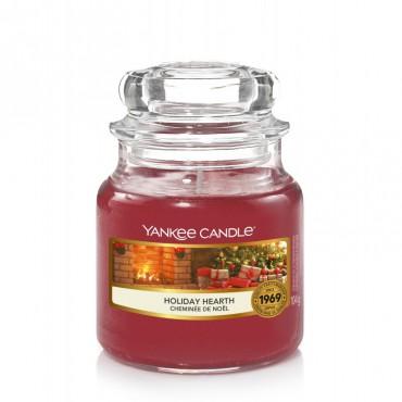 Mała świeca Holiday Hearth Yankee Candle