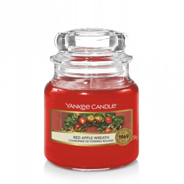 Mała świeca Red Apple Wreath Yankee Candle