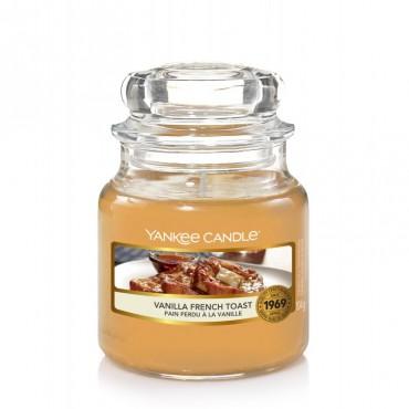 Mała świeca Vanilla French Toast Yankee Candle