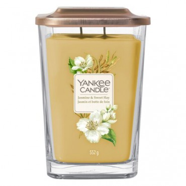 Elevation duża świeca Jasmine & Sweet Hay Yankee Candle