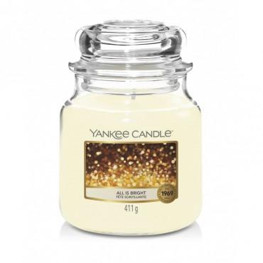 Średnia świeca All is Bright Yankee Candle