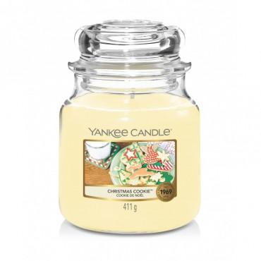 Średnia świeca Christmas Cookie Yankee Candle