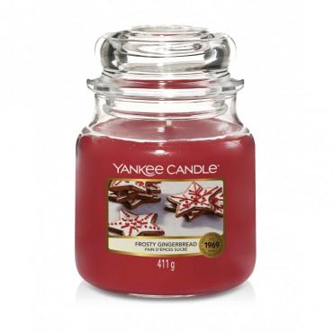 Średnia świeca Frosty Gingerbread Yankee Candle