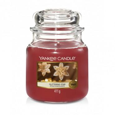 Średnia świeca Glittering Star Yankee Candle