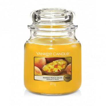 Średnia świeca Mango Peach Salsa Yankee Candle