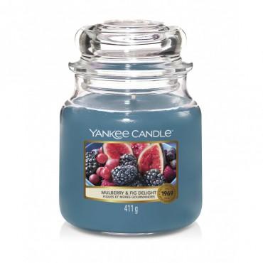 Średnia świeca Mulberry & Fig Delight Yankee Candle