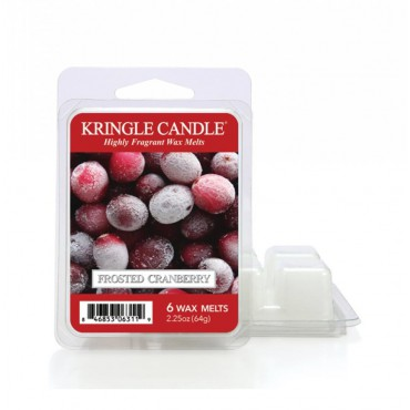 Wosk zapachowy Frosted Cranberry Kringle Candle