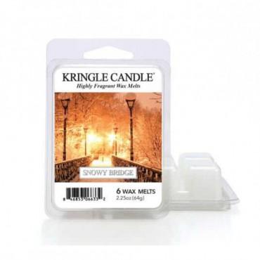 Wosk zapachowy Snowy Bridge Kringle Candle
