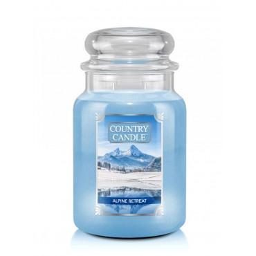 Duża świeca Alpine Retreat Country Candle