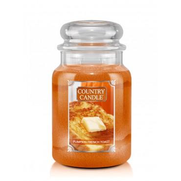 Duża świeca Pumpkin French Toast Country Candle