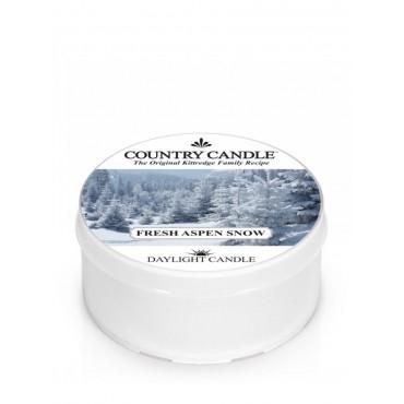 Daylight świeczka Fresh Aspen Snow Country Candle