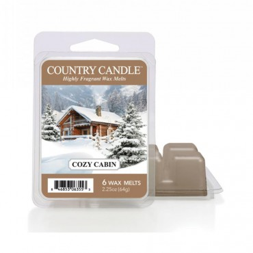 Wosk zapachowy Cozy Cabin Country Candle
