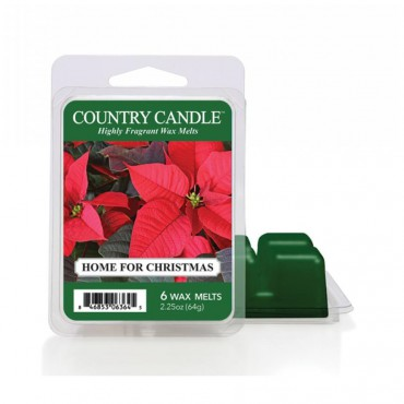Wosk zapachowy Home For Christmas Country Candle