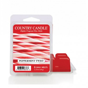Wosk zapachowy Peppermint Twist Country Candle