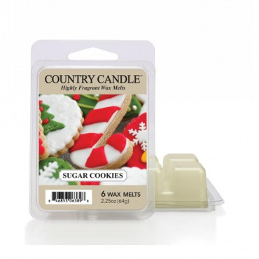 Wosk zapachowy Sugar Cookies Country Candle