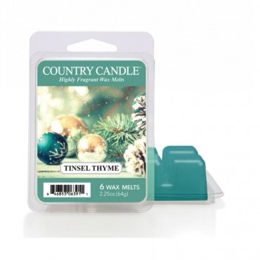 Wosk zapachowy Tinsel Thyme Country Candle