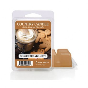 Wosk zapachowy Gingerbread Latte Country Candle