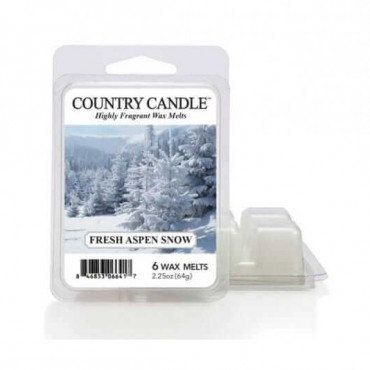 Wosk zapachowy Fresh Aspen Snow Country Candle