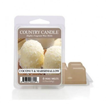 Wosk zapachowy Coconut Marshmallow Country Candle