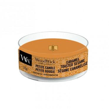 Świeca Petite Caramel Toasted Sesame WoodWick