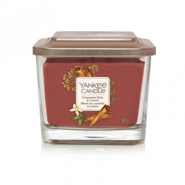 Elevation średnia świeca Cinnamon Bark & Cumin Yankee Candle