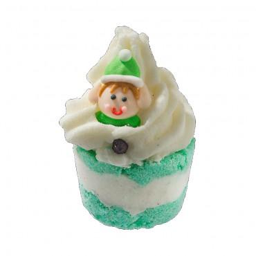 Kremowa babeczka do kąpieli Elf on a Shelf Bomb Cosmetics