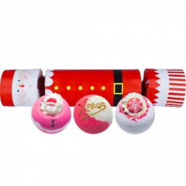 Zestaw upominkowy w kształcie cukierka Father Christmas Bomb Cosmetics