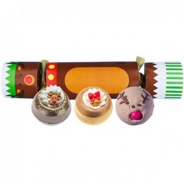 Zestaw upominkowy w kształcie cukierka Red Nosed Reindeer Bomb Cosmetics
