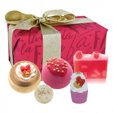 Zestaw upominkowy Fa La La Festive Bomb Cosmetics