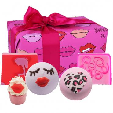 Zestaw upominkowy Lip Sync Festive Bomb Cosmetics