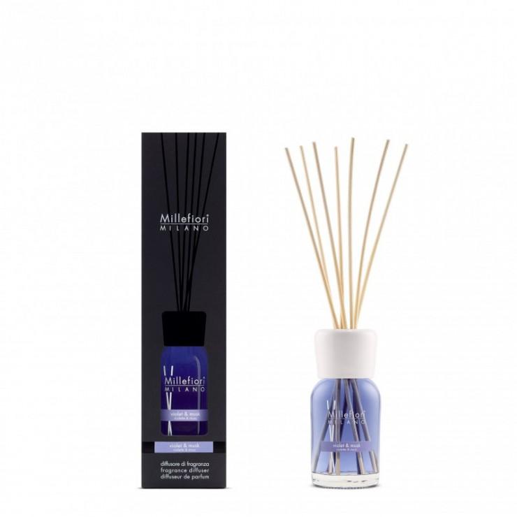 Pałeczki zapachowe 100ml Violet & Musk Millefiori Milano