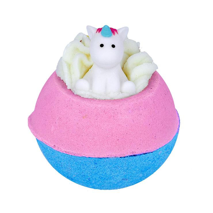 Musująca kula do kąpieli Born to Be a Unicorn z zabawką Bomb Cosmetics