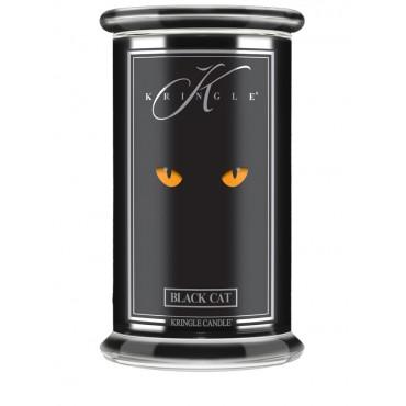 Duża świeca Black Cat Kringle Candle