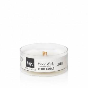 Świeca Petite Linen WoodWick