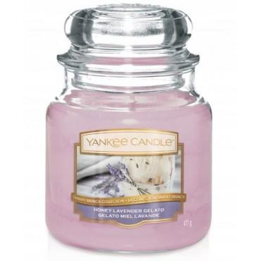 Średnia świeca Honey Lavender Gelato Yankee Candle