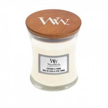 Mała świeca Coconut & Tonka Woodwick