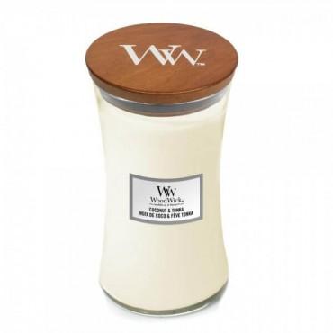 Duża Świeca Coconut & Tonka WoodWick
