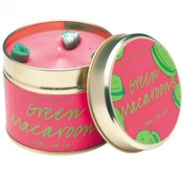 Świeca zapachowa w puszce Pistacjowe Makaroniki Bomb Cosmetics
