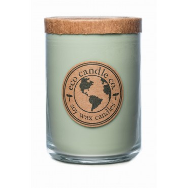Duża świeca Eucalyptus Sage Eco Candle