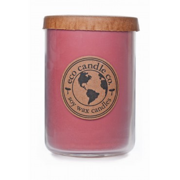 Duża świeca Strawberry Rhubarb Eco Candle