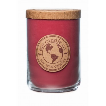 Duża świeca Spiced Cranberry Eco Candle